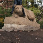 NITTANY LION SHRINE & GUARDING THE SHRINE